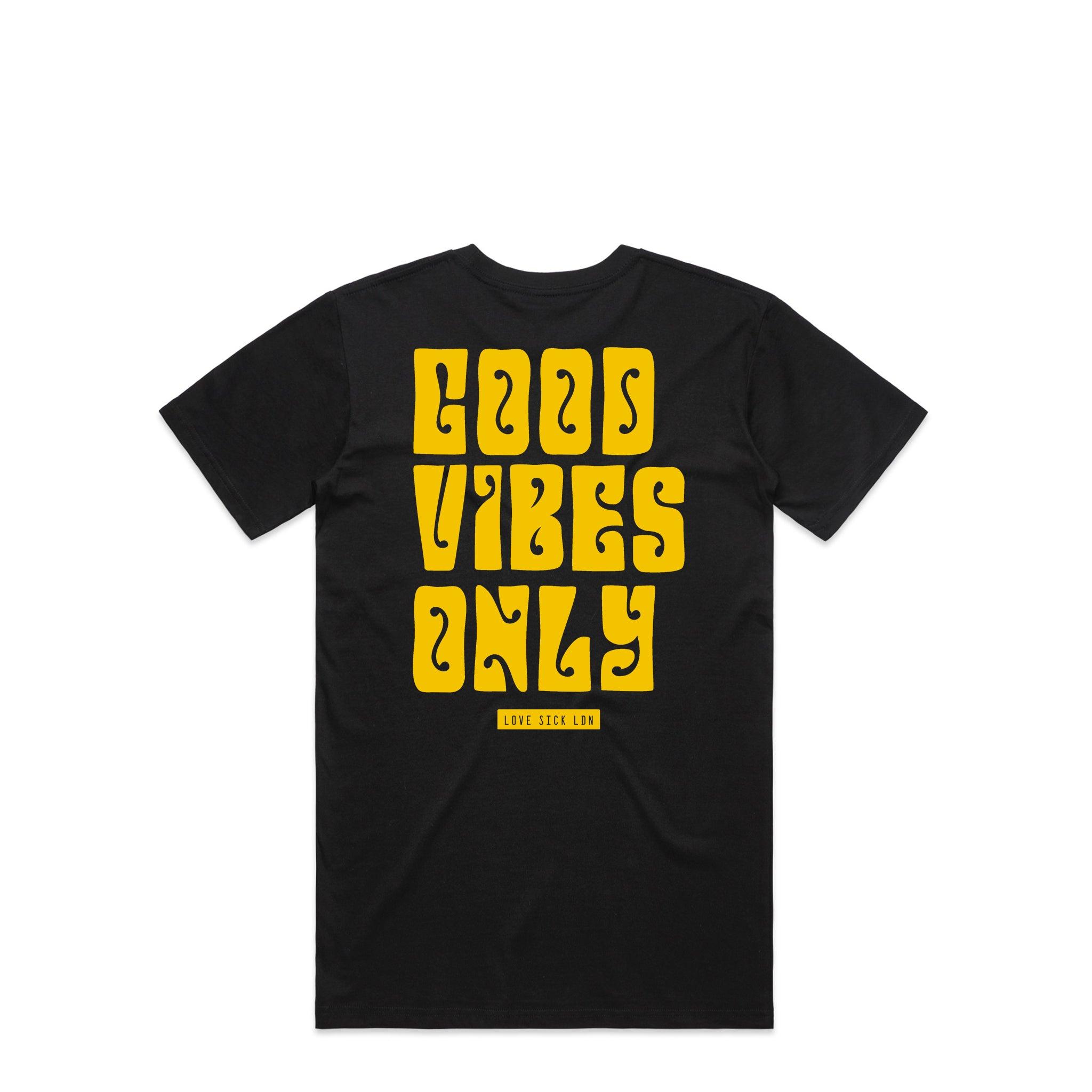 Good Vibes Only Black T-Shirt