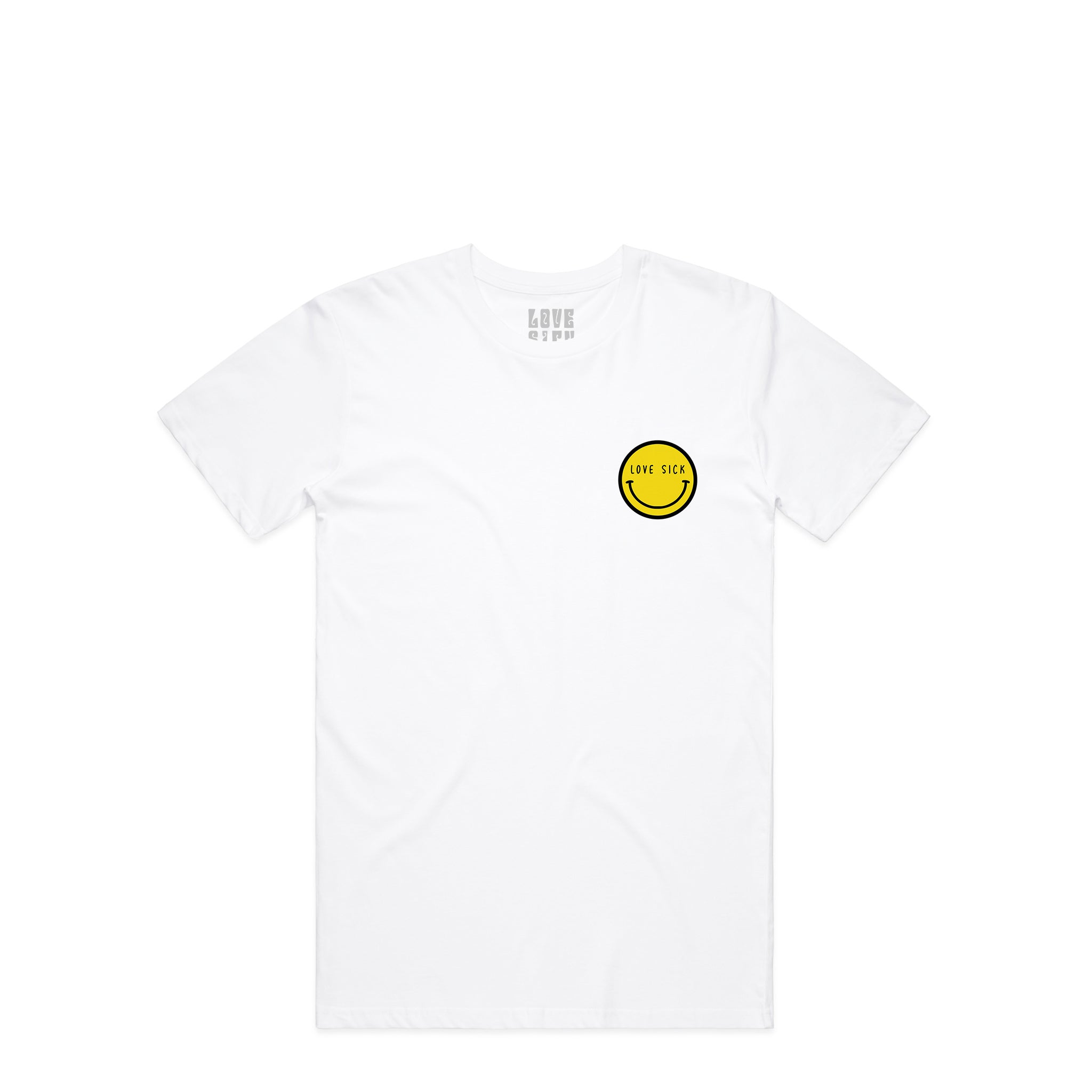 Smiley White T-Shirt