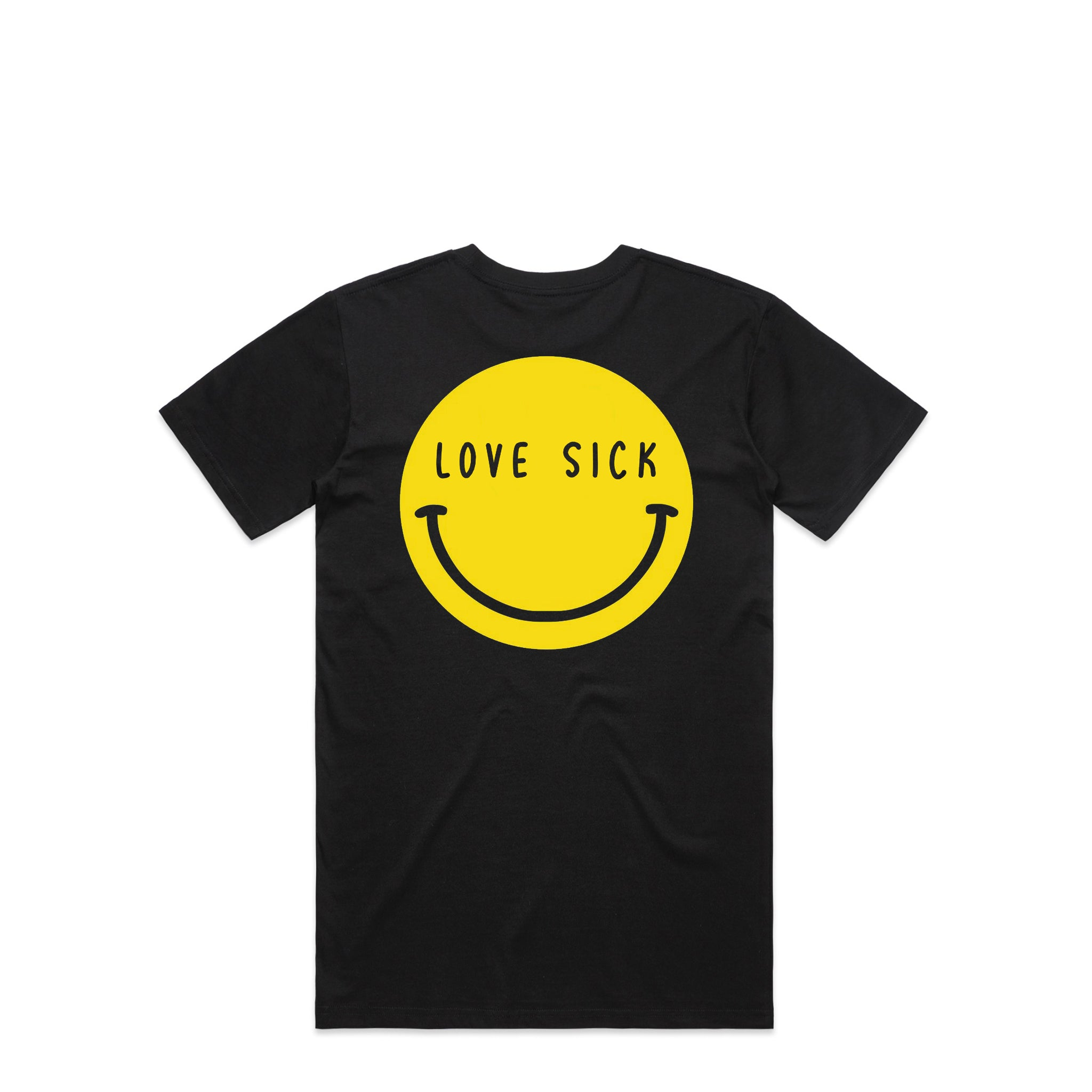 Smiley Black T-Shirt