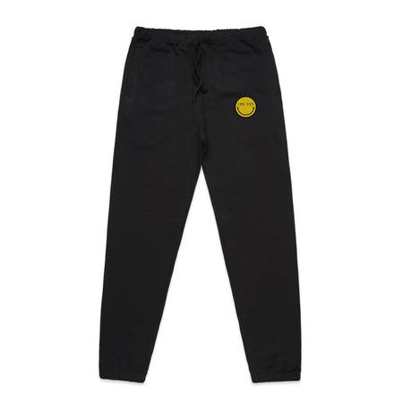 Love Sick Logo Embroidered Black Joggers