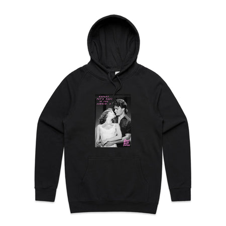 Nobody Put's Baby In The Corner Black Hoodie