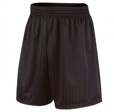 Prostar Omega Shorts - Large Black Football Mens Shadow Striped O Mega Short