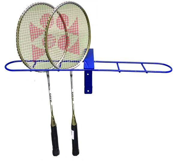 Badminton Racket Rack