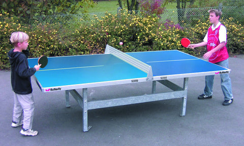 Butterfly S2000 Polymer Concrete/Steel Table Tennis Table