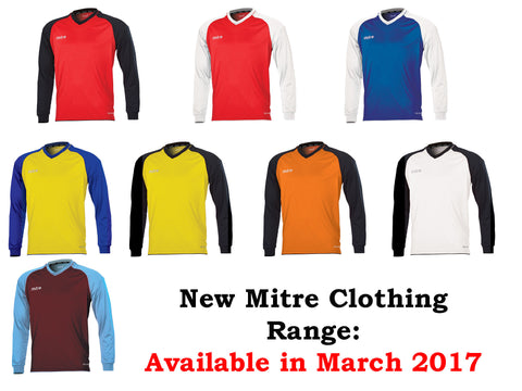 Mitre Cabrio Football Jersey (Youths)