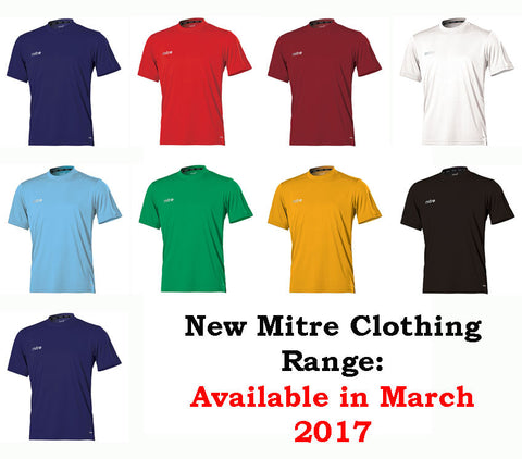Mitre Camero Short Sleeve Football Jersey  (Youths)