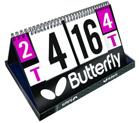Butterfly League Scoring Set