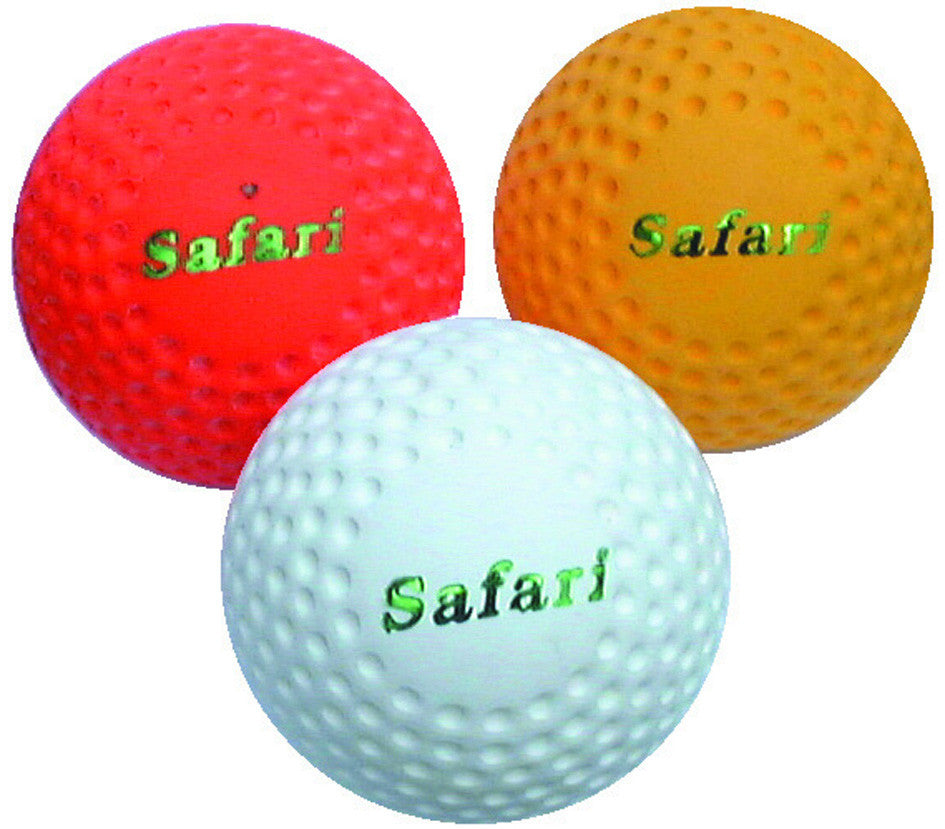 12 x Safari Dimple Hockey Balls (+ FREE ball bag)