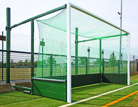 Fence Folding Hockey Goals (Pair)