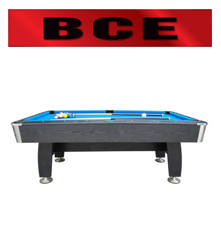 BCE 7' Black Cat Pool Table (HPT1-7)