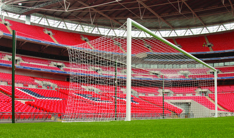 3G Stadium Goal At Wembley Showing Freechanging Net Supports