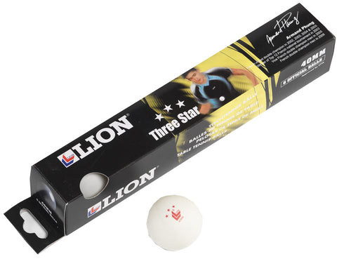 Lion Table Tennis Balls Pack Of 12
