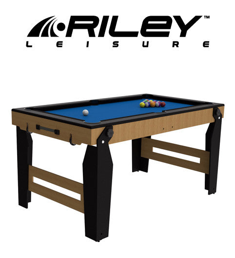 Riley 5' NCPRS-5 Rolling Lay Flat Pool Table
