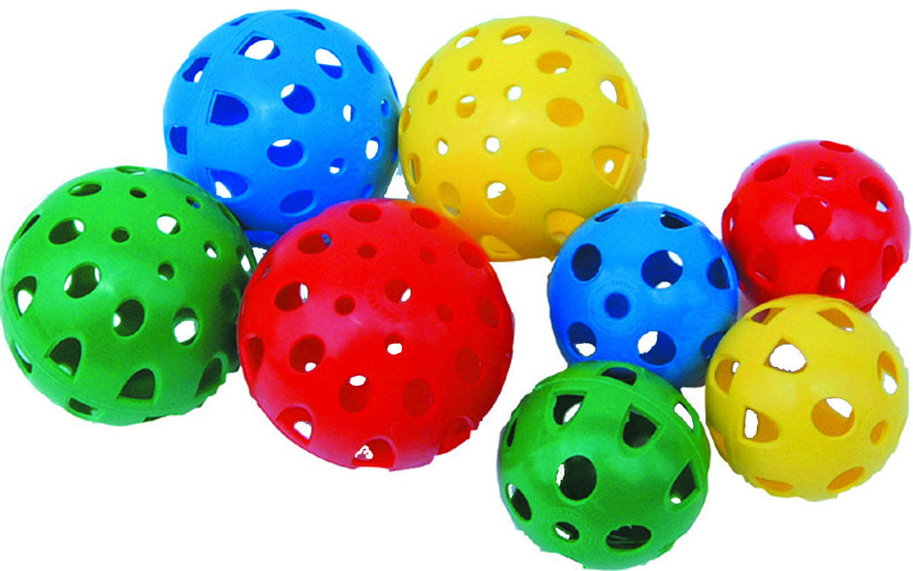 Perforated Plastic Balls