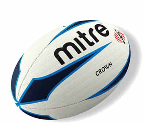 Mitre Crown Match Rugby Ball