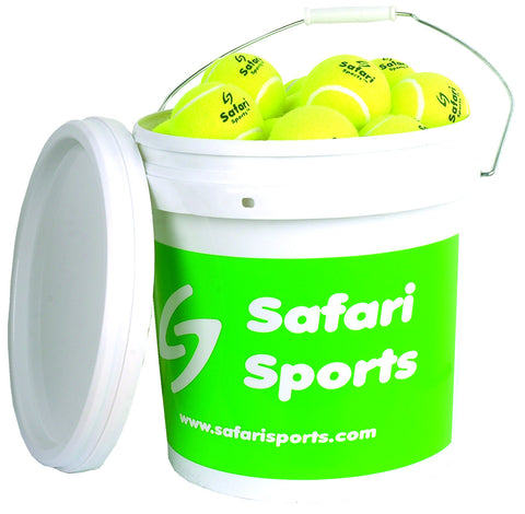 Bucket of 36 Practice Tennis Balls