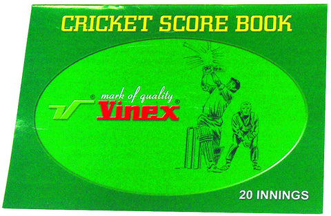 Safari Innings Scorebook