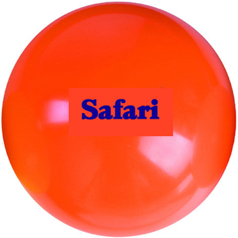12 x Safari Orange Smooth Hockey Ball (+ FREE Ball Bag)