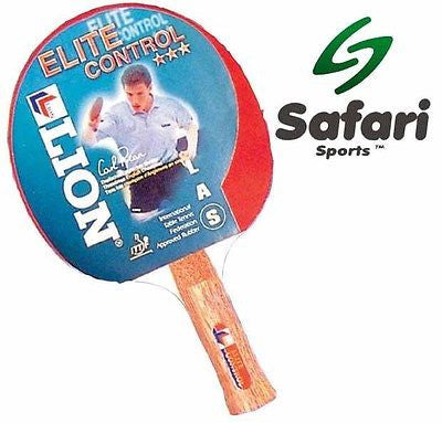 Lion Elite Control - Indoor Table Tennis Bat Ping Pong ITTF Approved