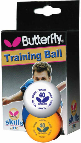 Butterfly Skills Youth Table Tennis Balls