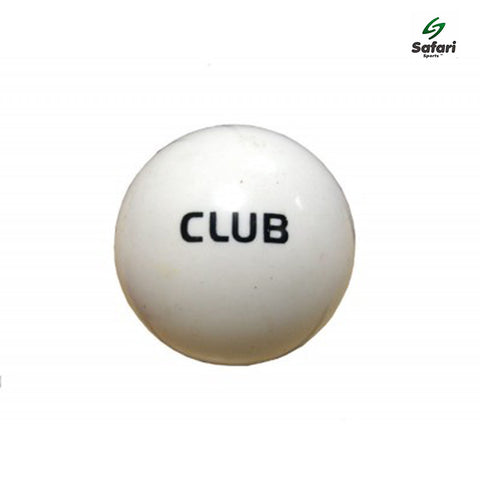 Grays Club White Smooth Hockey Ball (Individual/Box of 6)