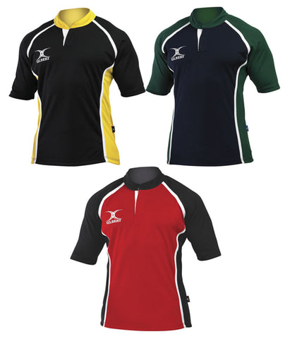 Gilbert Xact Two-Tone Rugby Top