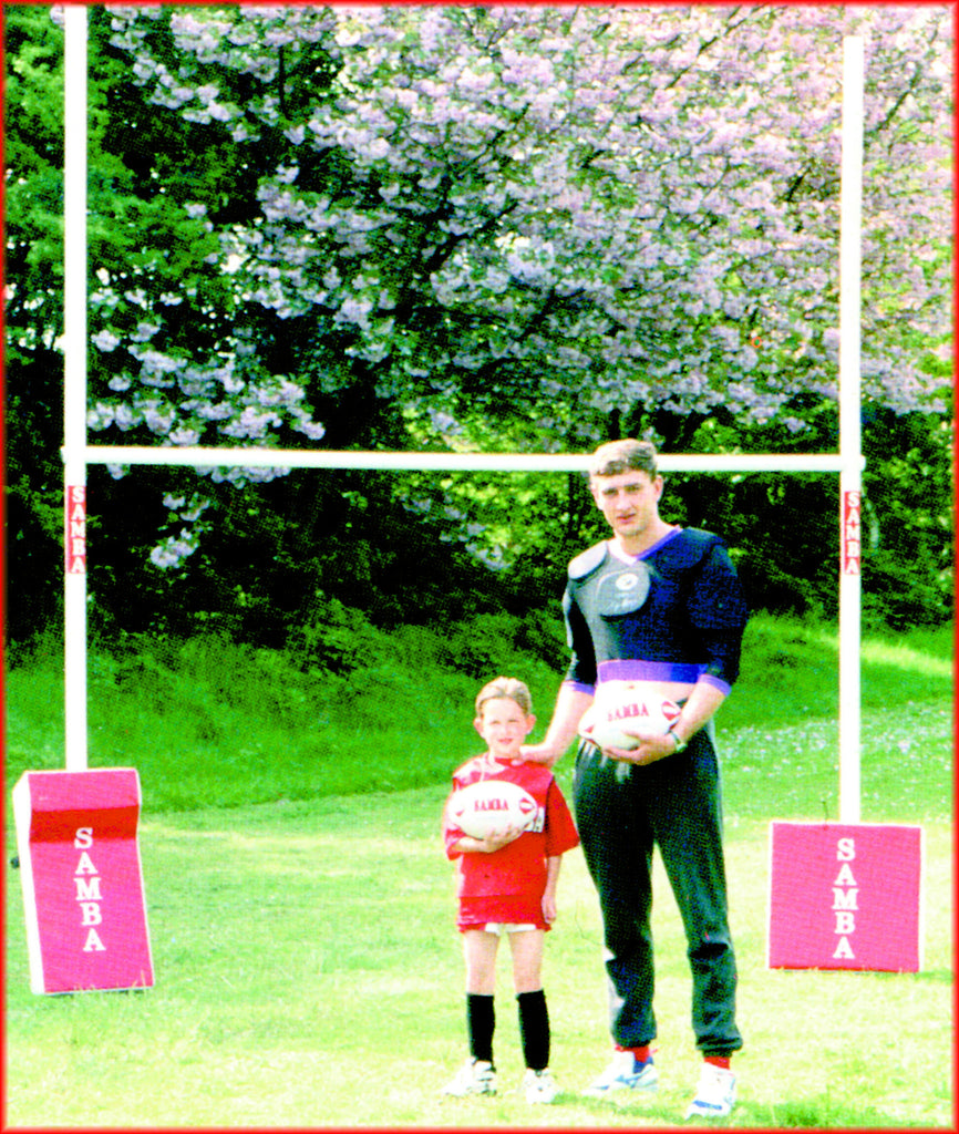 Samba UPVC Mini Rugby Posts [Pair]