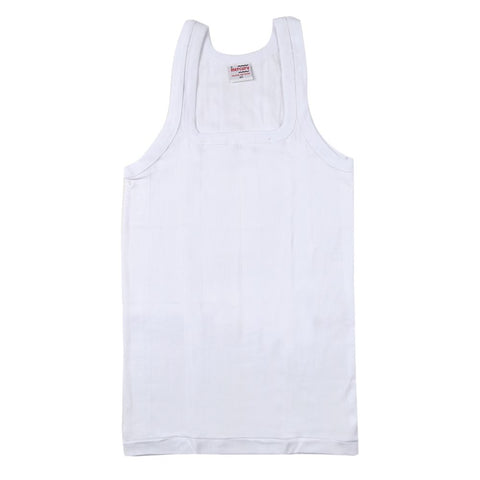 Europa Mercury White Cotton Vests