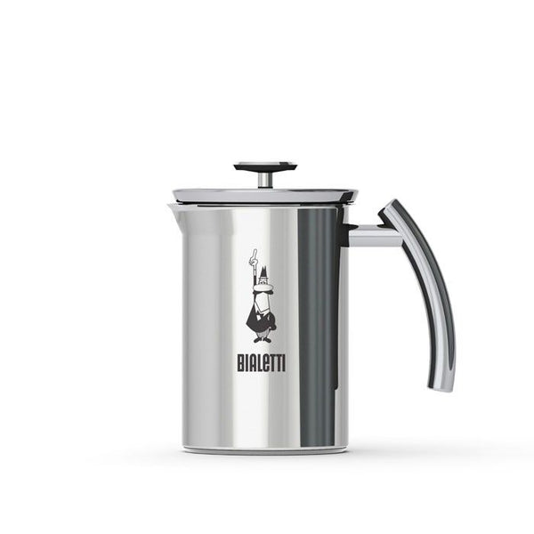 Bialetti Milk Frother Stainless Steel 6 Cup