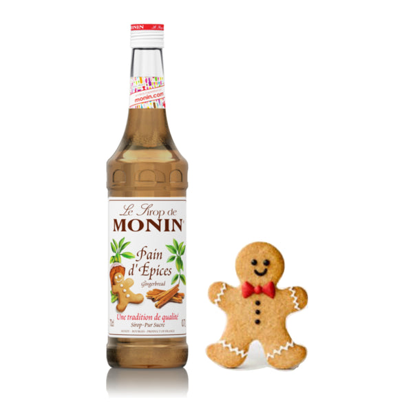 Monin Gingerbread Flavoured Syrup