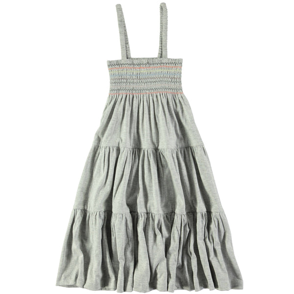 Molo Cadee Light Grey Melange Jersey Dress