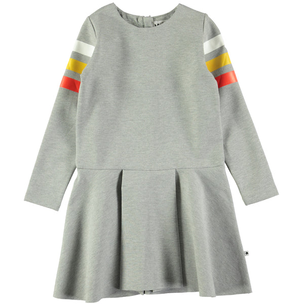 Molo Chantelle Grey Melange Dress