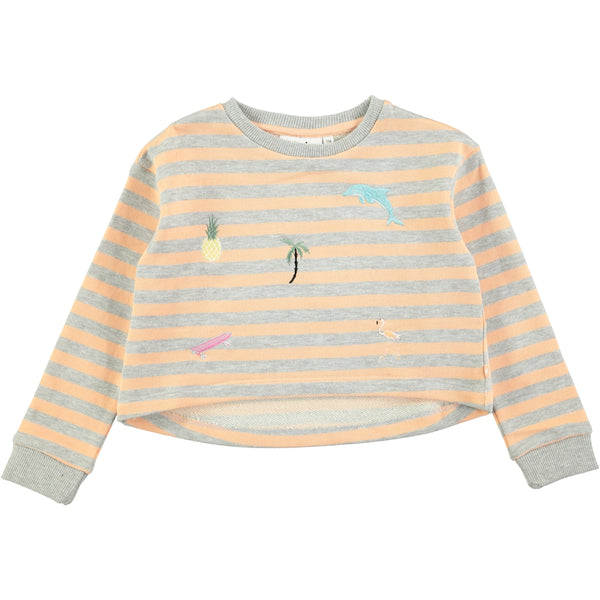 Molo Marci Tropical Stripe Sweatshirt