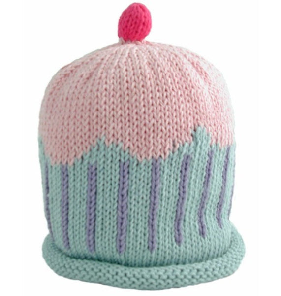 Merry Berries Pastel Cupcake Hat