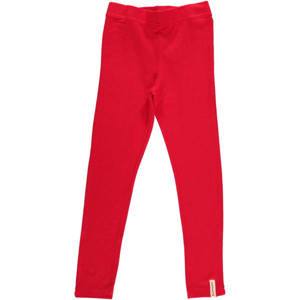 Maxomorra Red Leggings