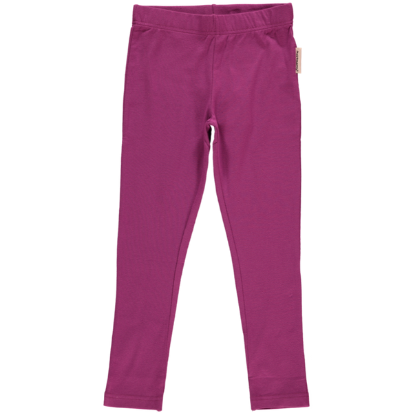 Maxomorra Purple Leggings