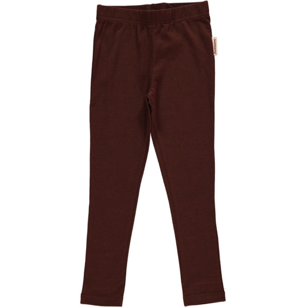 Maxomorra Brown Leggings