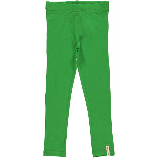Maxomorra Grass Green Leggings