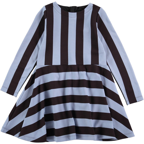 Molo Carmen Faded Denim Stripe Dress