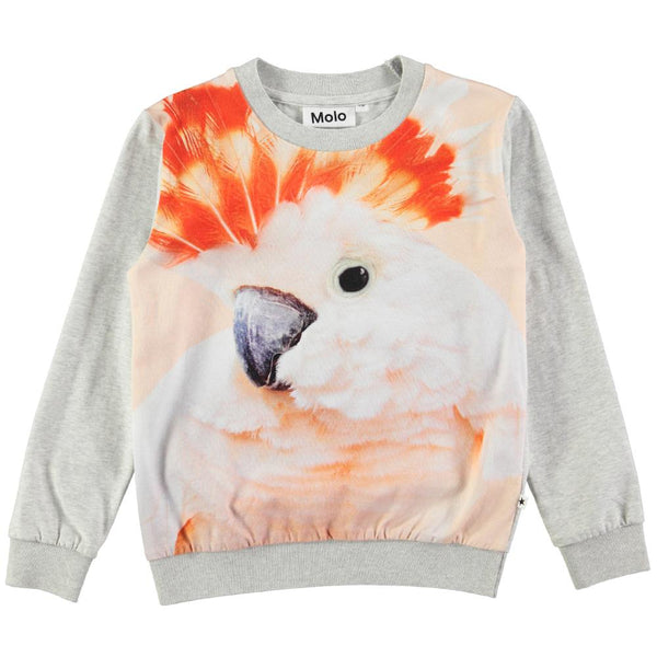 Molo Regine Cockatoo Print Long Sleeved Top