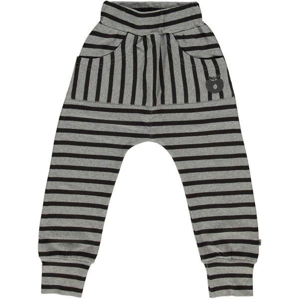 Smafolk Grey Stripe Relaxed Fit Trousers