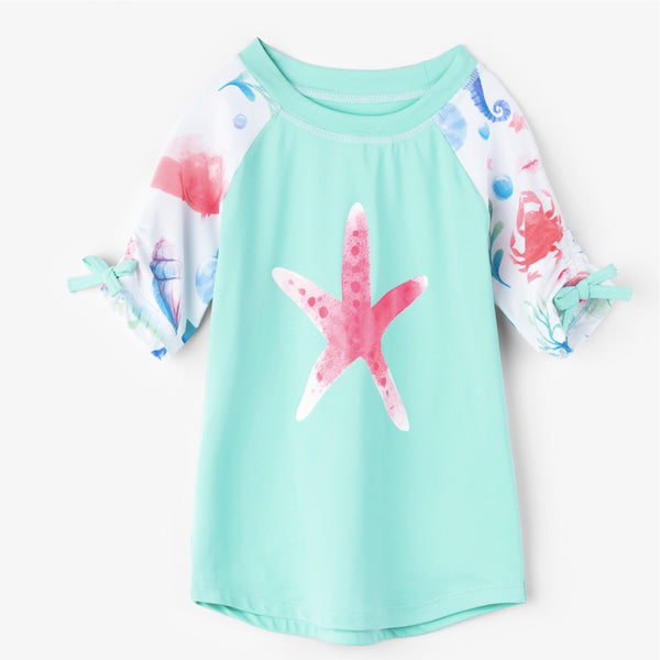 Hatley Ocean Treasures Short Sleeve Rash Vest SPF 50