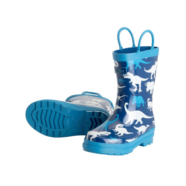 Hatley Silhouette Dinos Wellington Boots