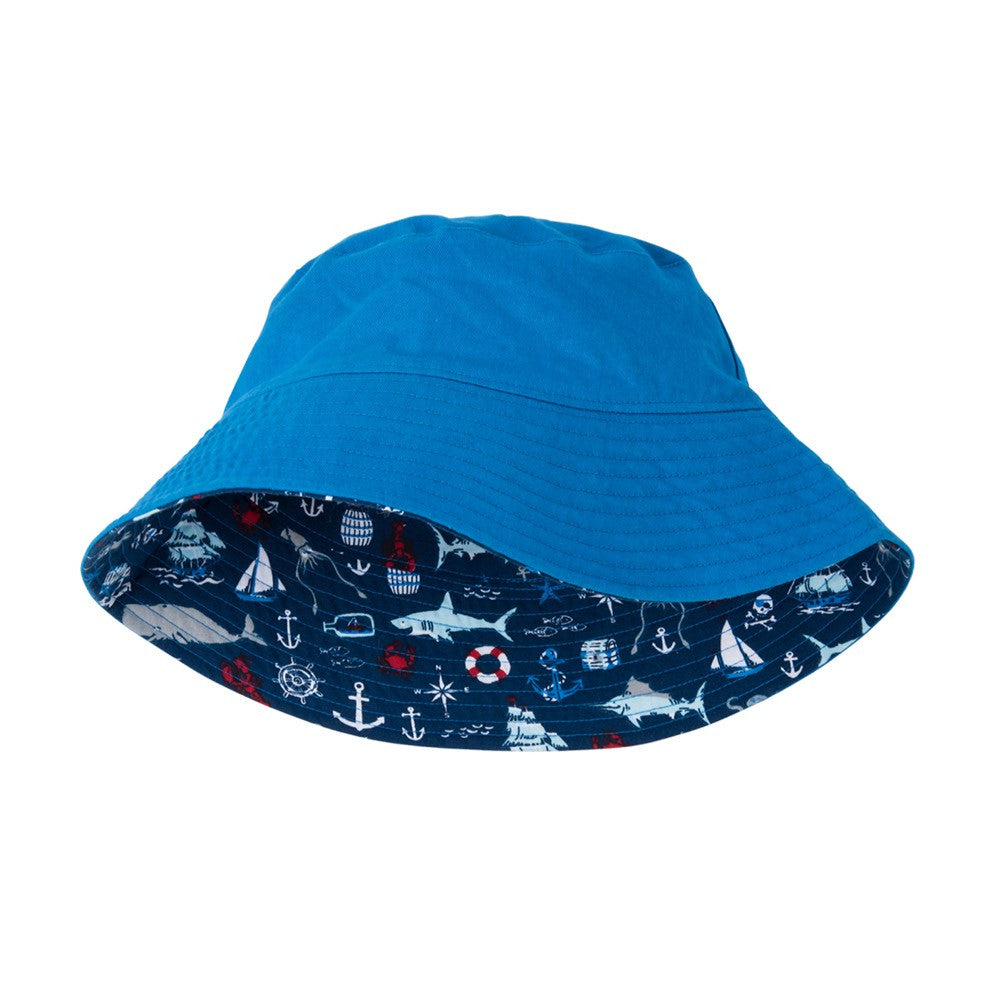 Hatley Vintage Nautical Reversible Sun Hat