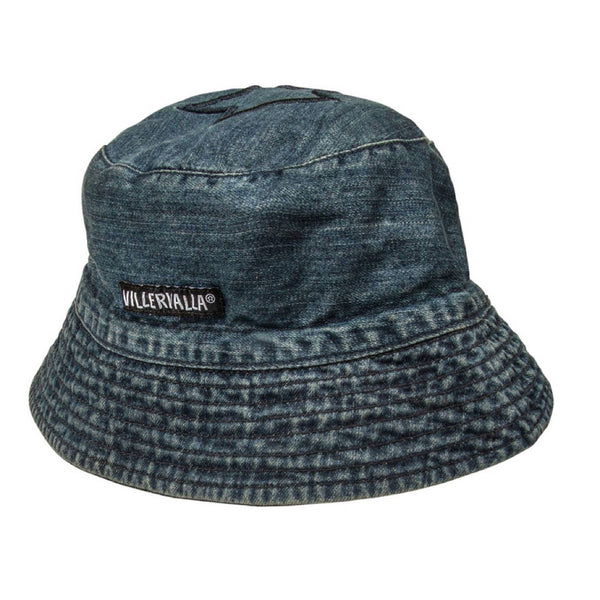 Villervalla Midnight Wash Denim Sun Hat