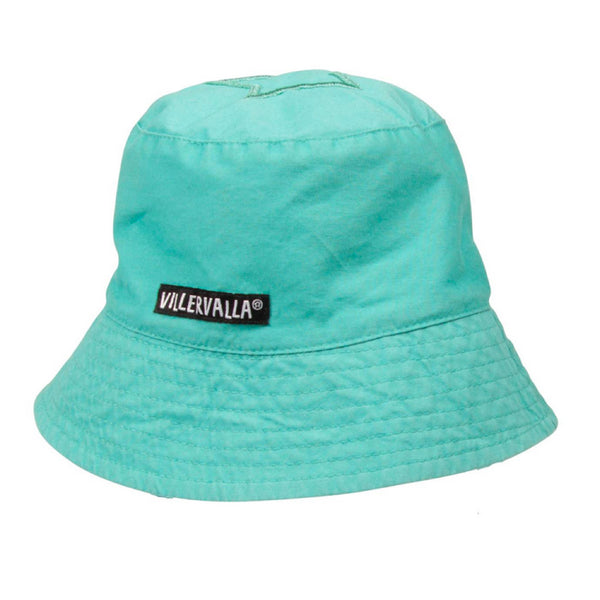 Villervalla Wave Blue Canvas Sun Hat