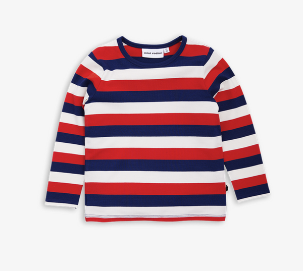 Mini Rodini Multi Blockstripe Long Sleeved T-shirt