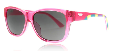 Puma PU0004S Fuschia Smoke 001 49mm