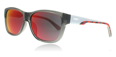 Puma PU0004S Grey Red 004 49mm