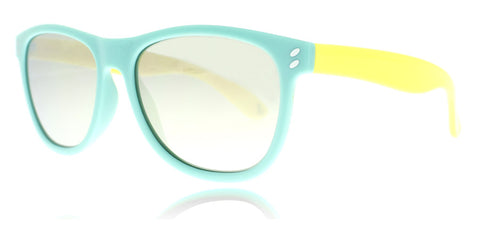 Stella McCartney JR SK0005S Light Blue Yellow Gold 2 49mm